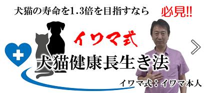 イワマ式 犬・猫健康長生き法