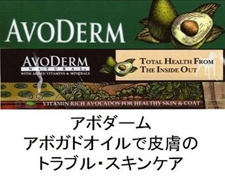 AVODERM(アボダーム)のトップページ
