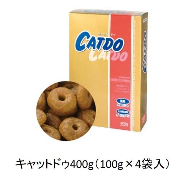 キャット・ドゥ(全猫種・全年齢猫用)400g(100g×4袋入)